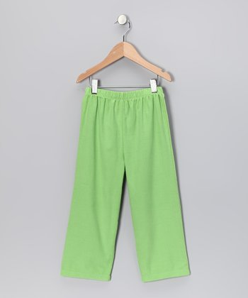 Lime Corduroy Pants - Infant, Toddler & Kids