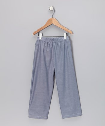 Blue Pull-On Pants - Infant