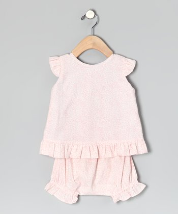 Pink Riley Top & Bloomers - Infant