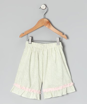 Sage Ruffle Shorts - Infant, Toddler & Girls