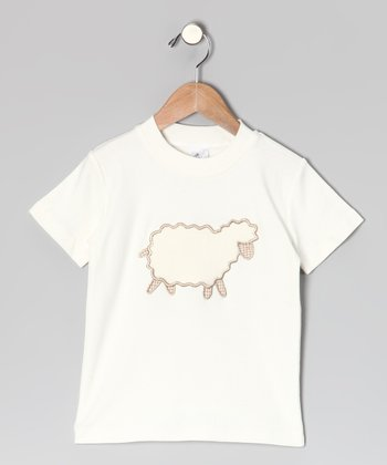 Cream Sheep Tee - Toddler & Kids