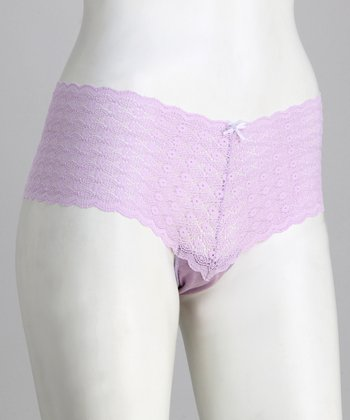 Lilac Copacabana Maternity Boyshorts - Women