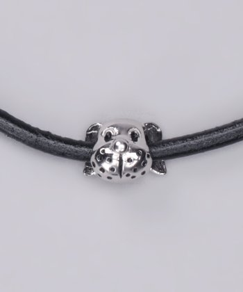 Sterling Silver Dog Charm Bead