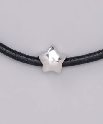 Sterling Silver Puffed Star Charm Bead