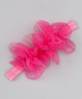 Fuchsia Dream Baby Headband