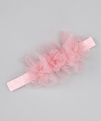 Pink Dream Baby Headband