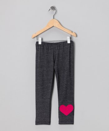 Blue Heart Leggings - Infant & Toddler