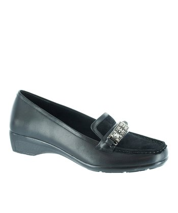 Black Suede Dalton Loafer