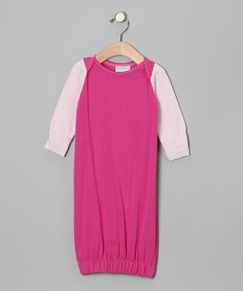 Fuchsia Gown - Infant