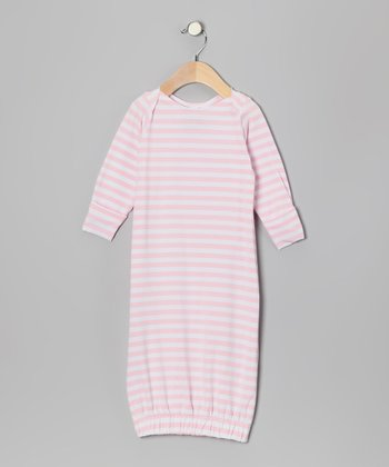 Pink & White Gown - Infant