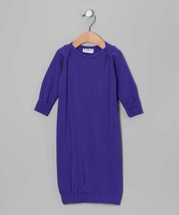 Purple Gown - Infant