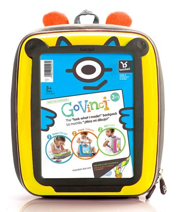 Yellow Soft-Back GoVinci Backpack