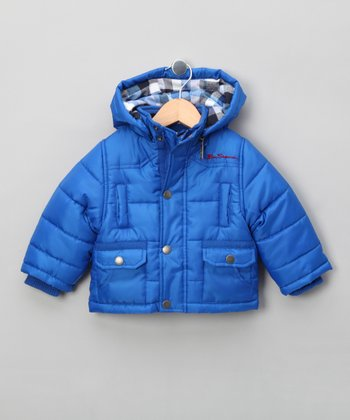 Royal Blue Puffer Jacket - Infant & Boys