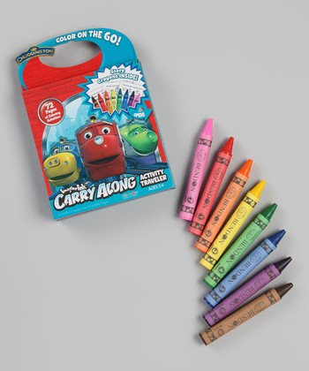 Chuggington Coloring Book Set