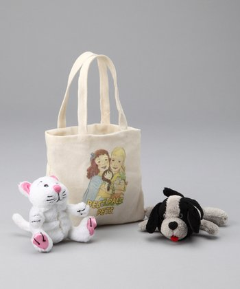 Puppy & Kitty Plush Toy Set
