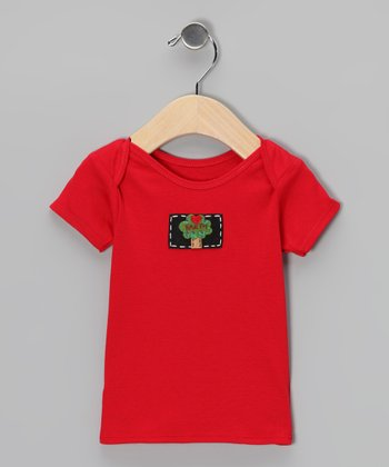 Red Love Earth Tee