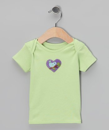 Cucumber Bird Heart Tee