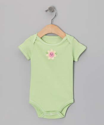 Cucumber Flower Bodysuit