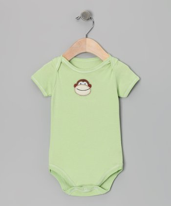 Cucumber Monkey Bodysuit