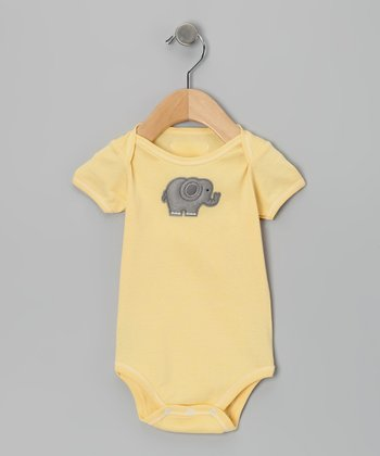 Buttercup Elephant Bodysuit - Infant