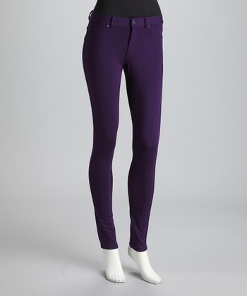 Purple Jeggings