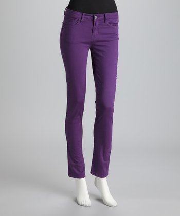 Purple Jewel Tone Skinny Jeans