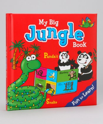 My Big Jungle Hardcover Board Book