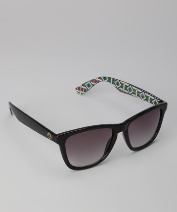 Black Hidden Geometric Sunglasses