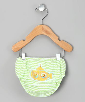 Green Submarine Swim Diaper - Infant
