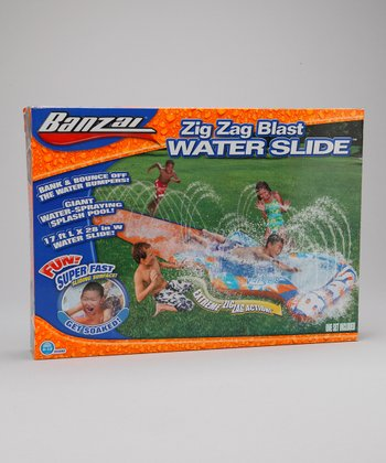 Zigzag Blast Water Slide Set