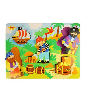 Pirates Chunky Lift-Out Puzzle