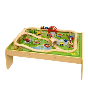 Toys Train Set & Table