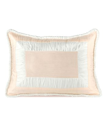 Pink Ballerina Oblong Pillow
