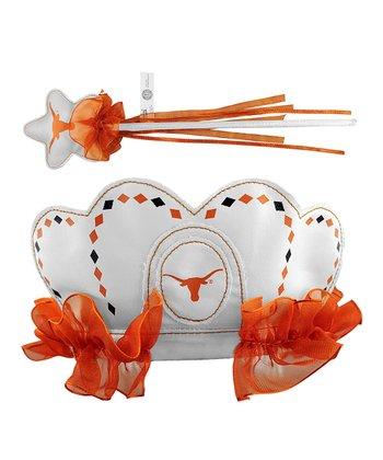 Texas Longhorns Princess Tiara & Wand
