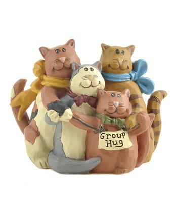 'Group Hug' Cat Collectible