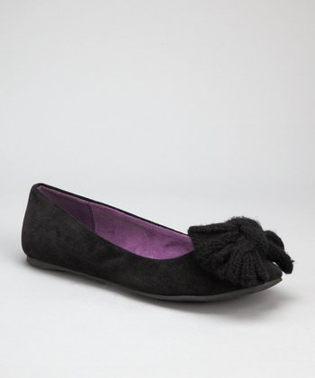 Black Superfly Cord Nabela Flat