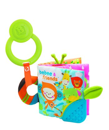 Teething Activity Plush Book