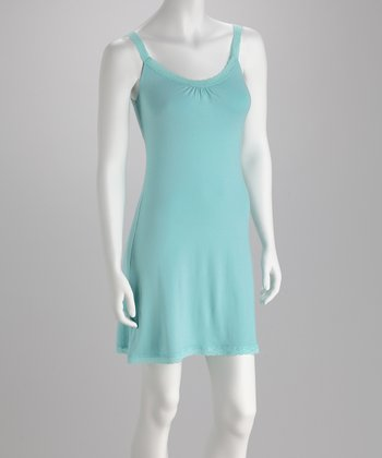 Blue Canoe Pool Organic Dress