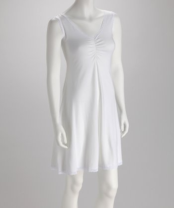 White Swing Organic Nightgown
