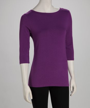 Blue Canoe Passion Organic Boatneck Top