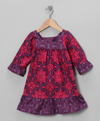 Fuchsia Lilly Dress - Infant, Toddler & Girls
