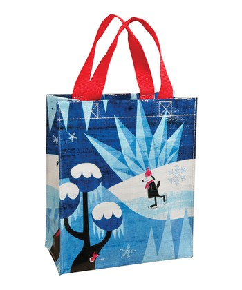 Blue Q Blue Snow Day Handy Tote
