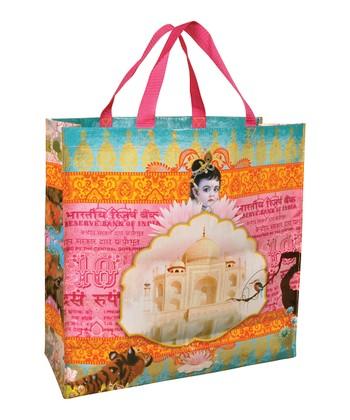 Blue Q Pink India Shopper