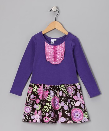 Purple Janelle Dress - Infant, Toddler & Girls