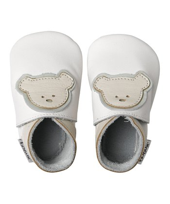 White Baby Teddy Booties
