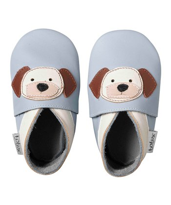 Ice Blue Puppy Booties