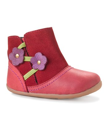 Berry step up Pixie Boot