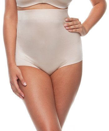 Blush High-Waisted Shaper Briefs - Women & Plus