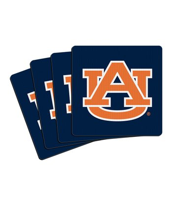 Auburn Neoprene Coaster - Set of Four
