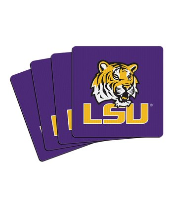 Louisiana Neoprene Coaster - Set of Four